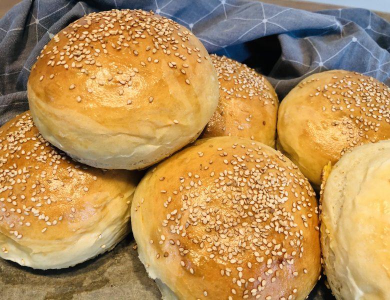 Die perfekten Brioche Brötchen / Burger Buns